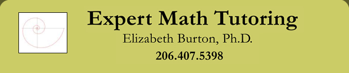 Elizabeth Burton - Math Tutoring in Seattle
